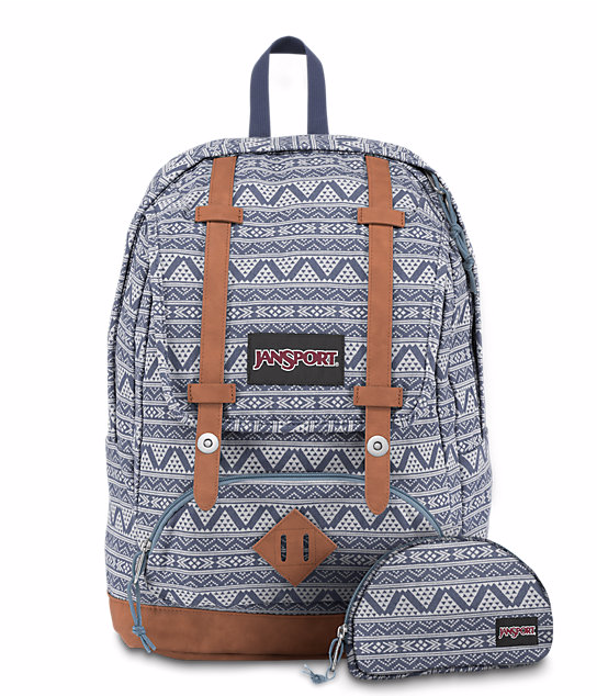 לצפייה במוצר JANSPORT BAUGHMAN - BLUE CHAMBRAY