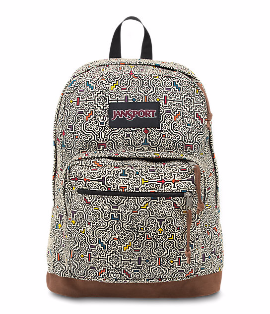 לצפייה במוצר JANSPORT RIGHT PACK EXPR - NEUTRAL PERUVIAN MAZE