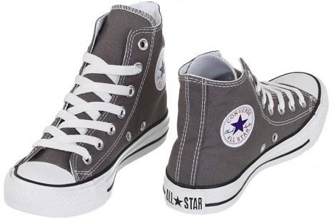 לצפייה במוצר ALL STAR BASIC HI CHARCOAL - GREY