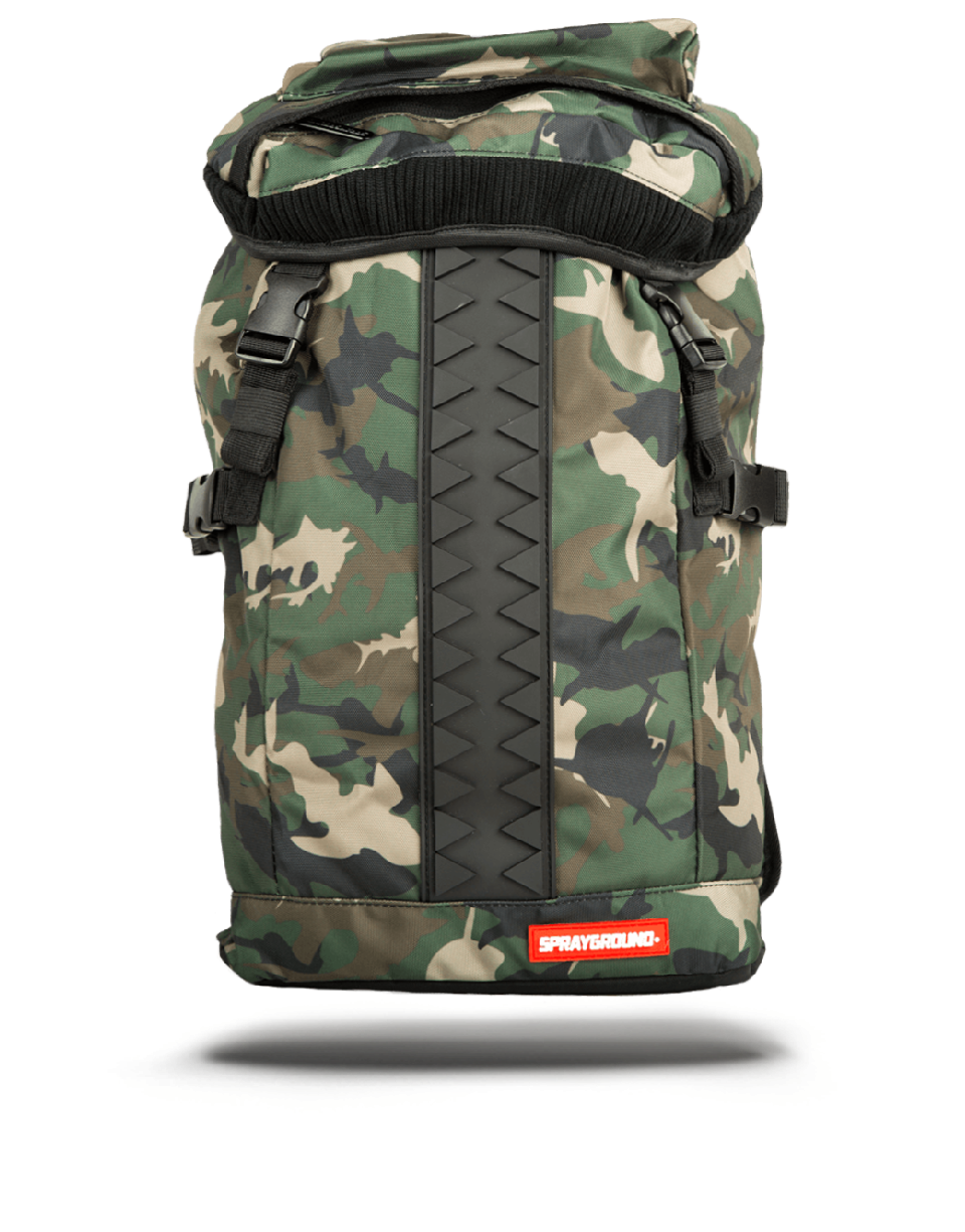 לצפייה במוצר SPRAYGROUND RUBBER CAMO SHARK