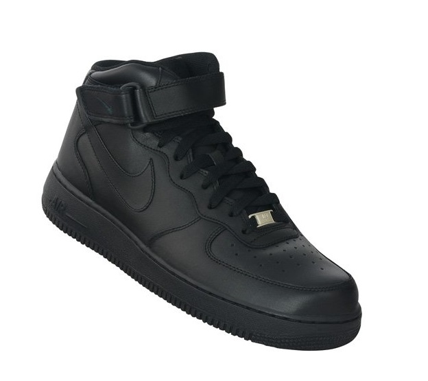 לצפייה במוצר AIR FORCE 1 MID '07 - BLACK/BLACK - WOMAN