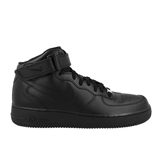 לצפייה במוצר NIKE AIR FORCE 1 MID - BLACK/BLACK - MAN
