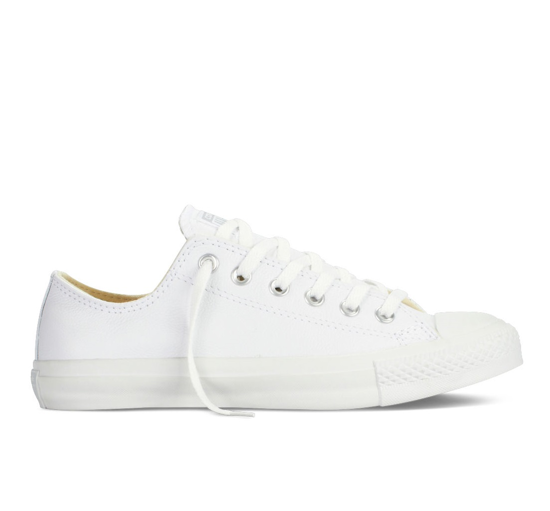 לצפייה במוצר ALL STAR CT OX LEATHER - WHITE