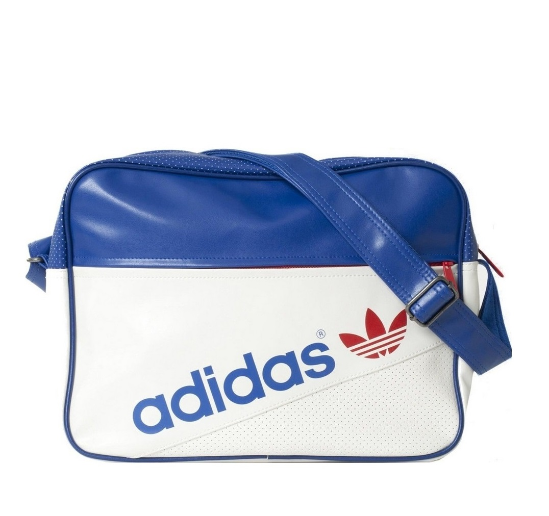 לצפייה במוצר ADIDAS BAG AIRLINER PERF -  WHITE