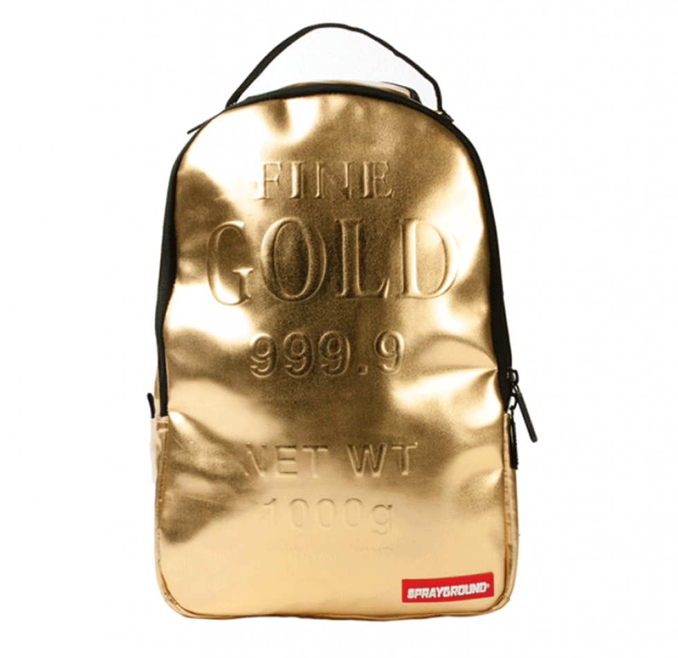 לצפייה במוצר SPRAYGROUND MINI - GOLD BRICK