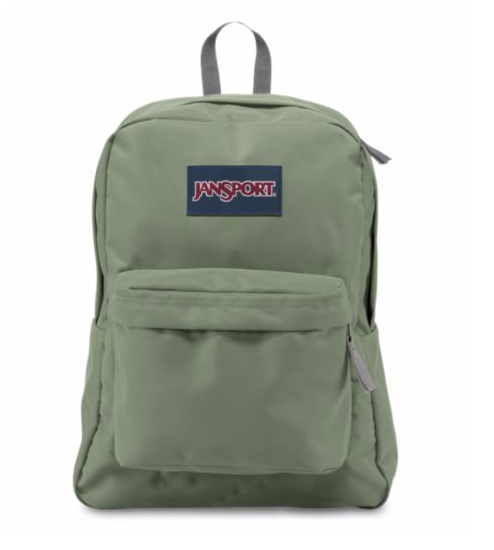 לצפייה במוצר JANSPORT SUPERBREAK - MUTED GREEN