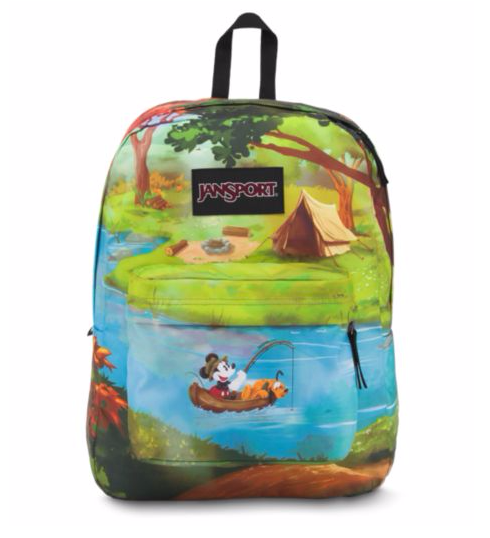 לצפייה במוצר JANSPORT DISNEY HIGH STAKES - FOREST CAMP