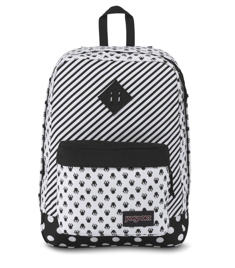לצפייה במוצר JANSPORT DISNEY SUPER FX - MINNIE WHITE DOT