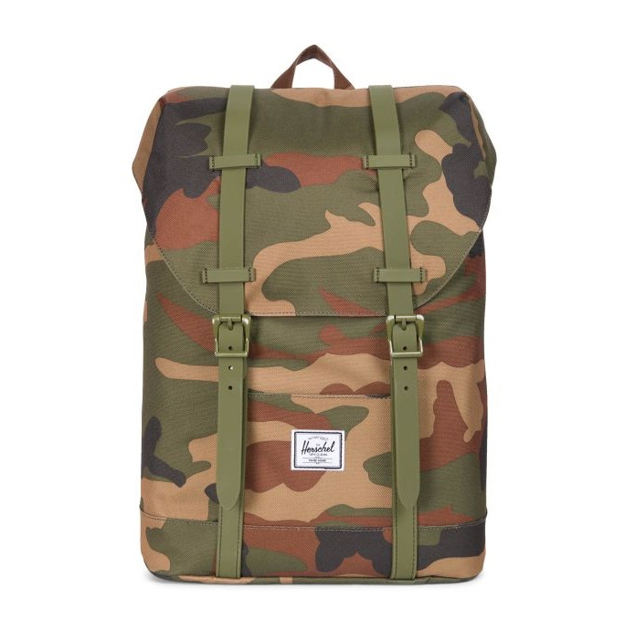 לצפייה במוצר HERSCHEL RETREAT - WOODLAND CAMO YOUTH