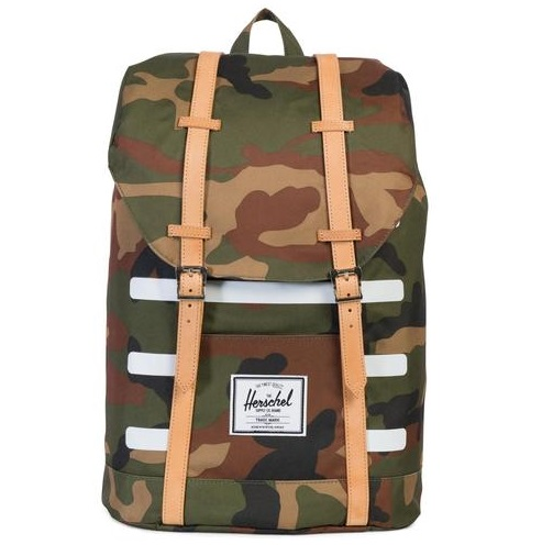 לצפייה במוצר HERSCHEL RETREAT - WOODLAND STRIPE CAMO