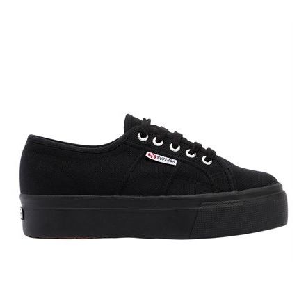 לצפייה במוצר SUPERGA COTU PLATFORM - BLACK