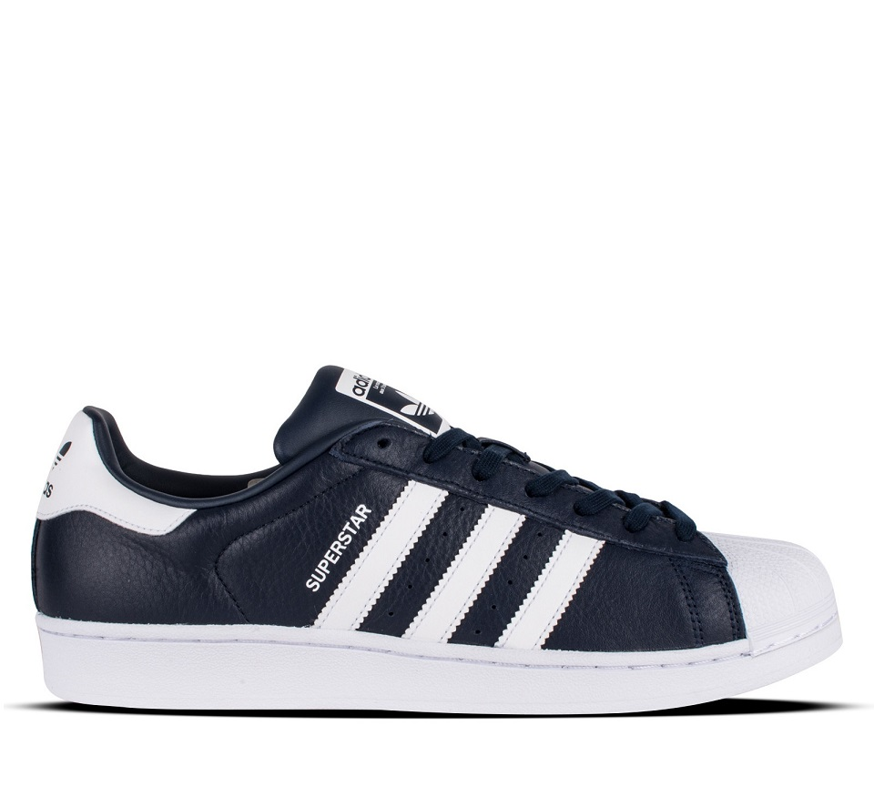 לצפייה במוצר SUPERSTAR LEATHER NAVY WHITE
