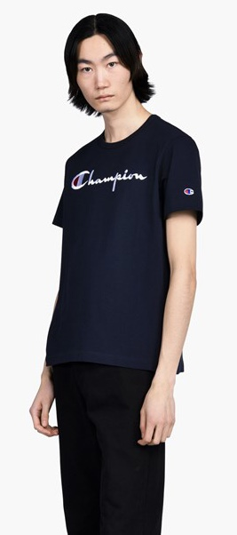 לצפייה במוצר CHAMPION CREWNECK TEE BLUE