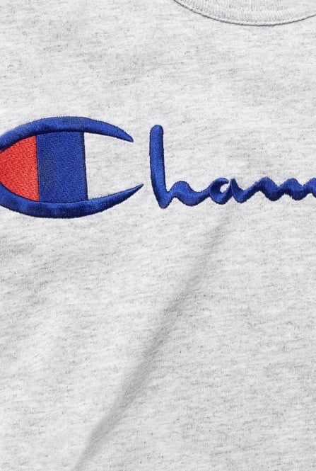 לצפייה במוצר CHAMPION CREWNECK TEE GREY