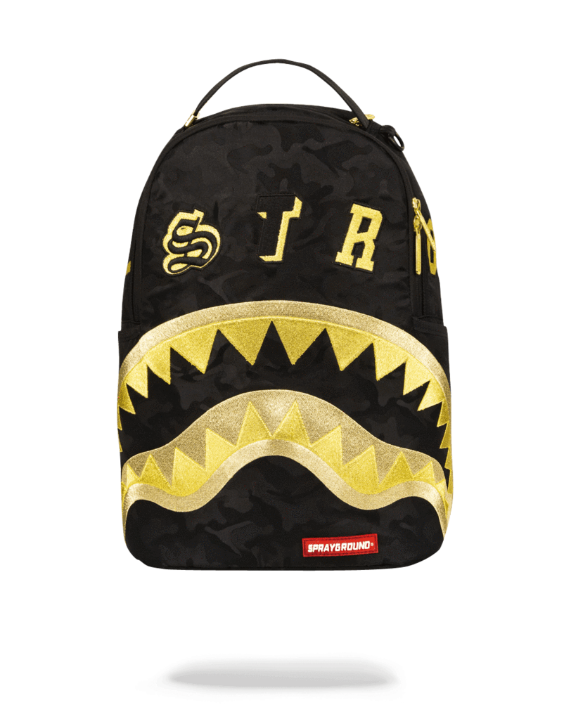 לצפייה במוצר SPRAYGROUND DESTROY BLACK GOLD CAMO