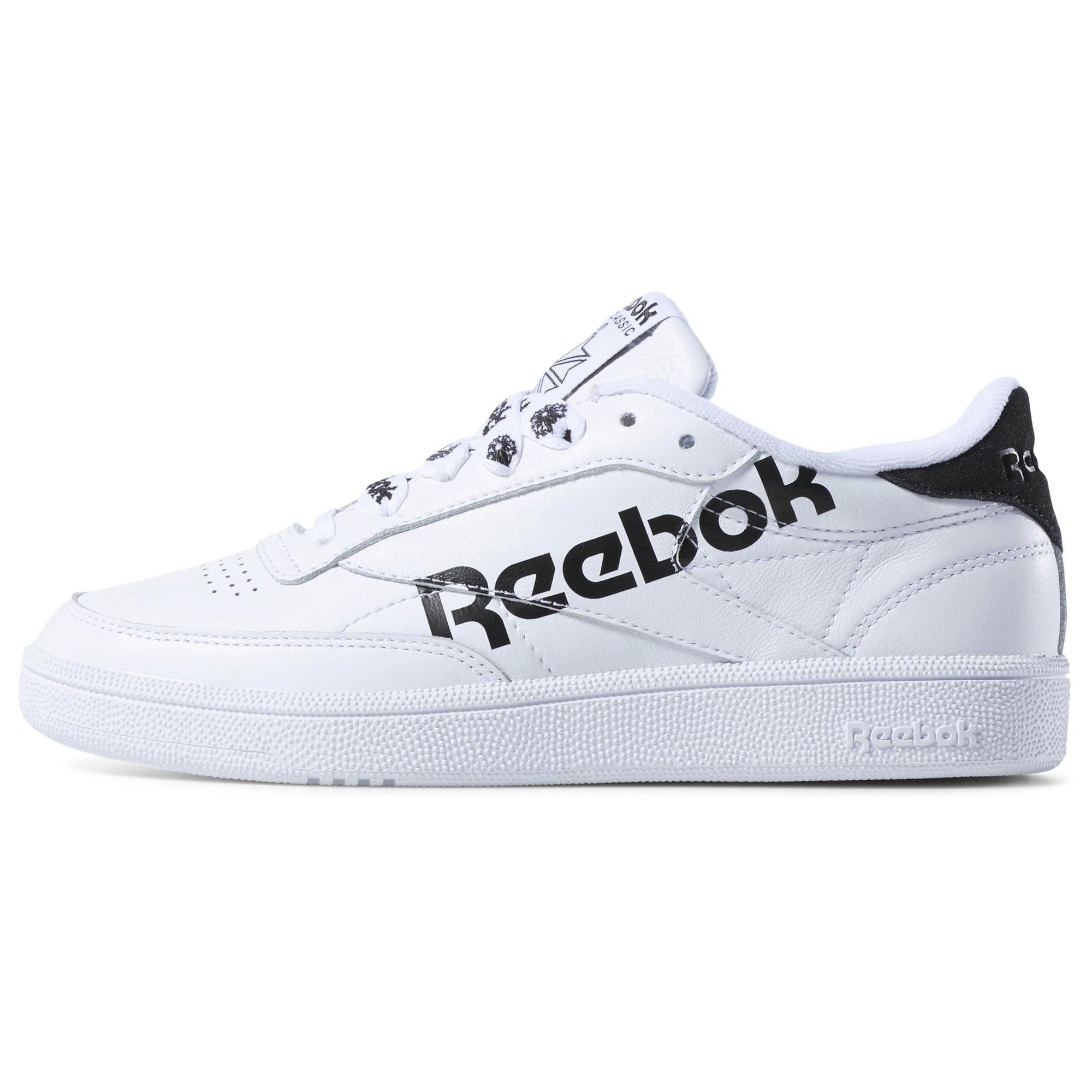 לצפייה במוצר REEBOK CLUB C 85 WHITE/BLACK