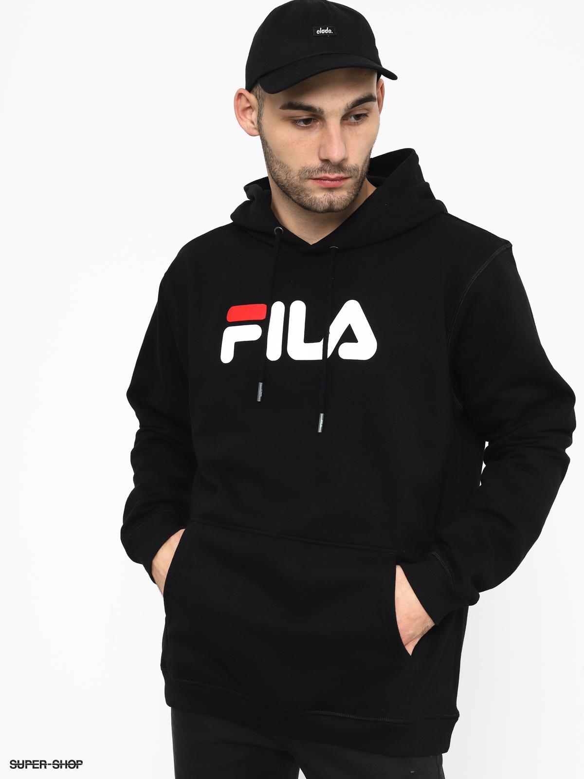 לצפייה במוצר FILA HOODED SWEATSHIRT BLACK
