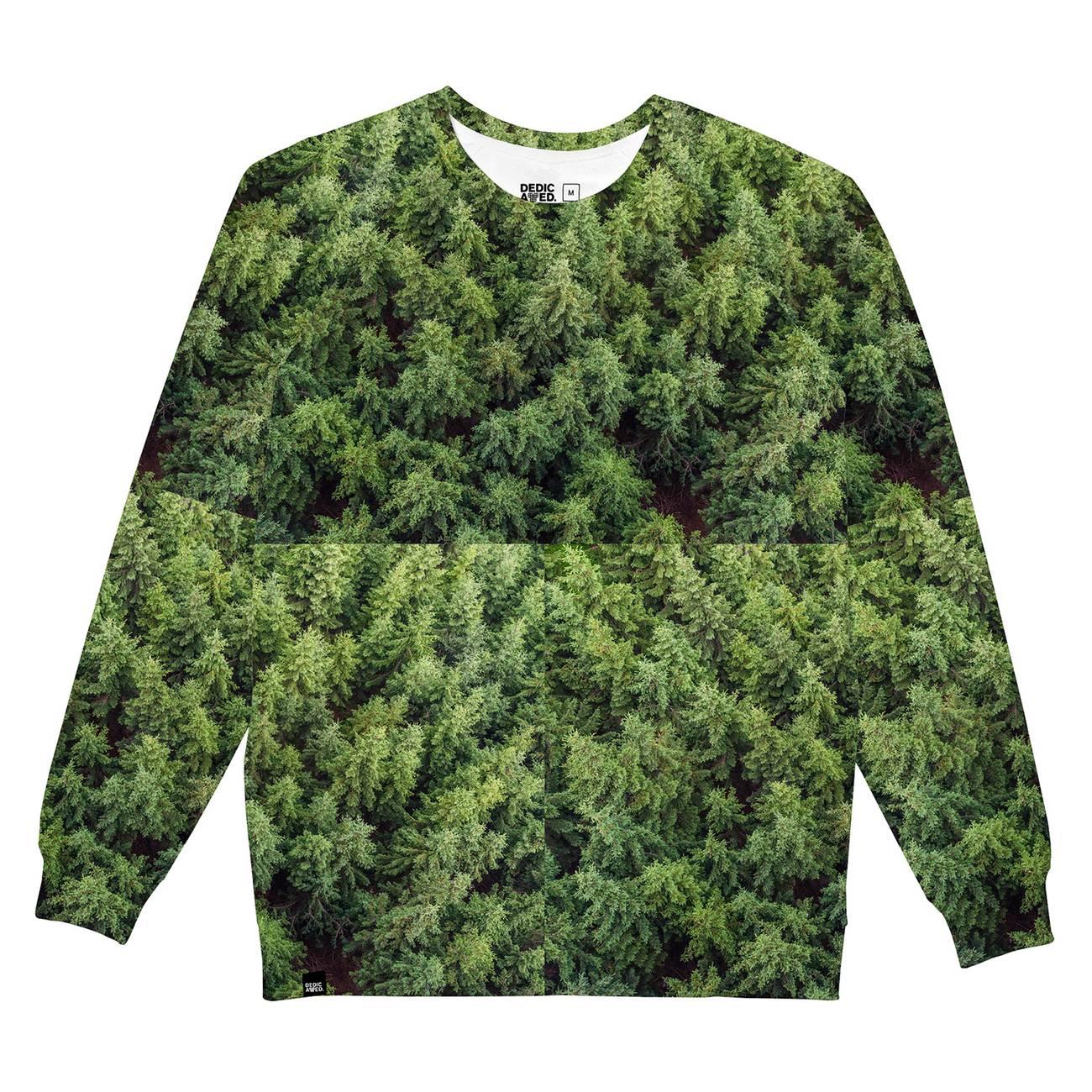 לצפייה במוצר DEDICATED SWEATSHIRT FOREST GREEN