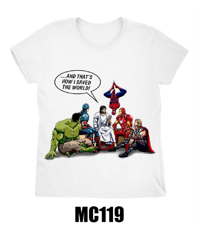לצפייה במוצר Jesus and friends T-shirt