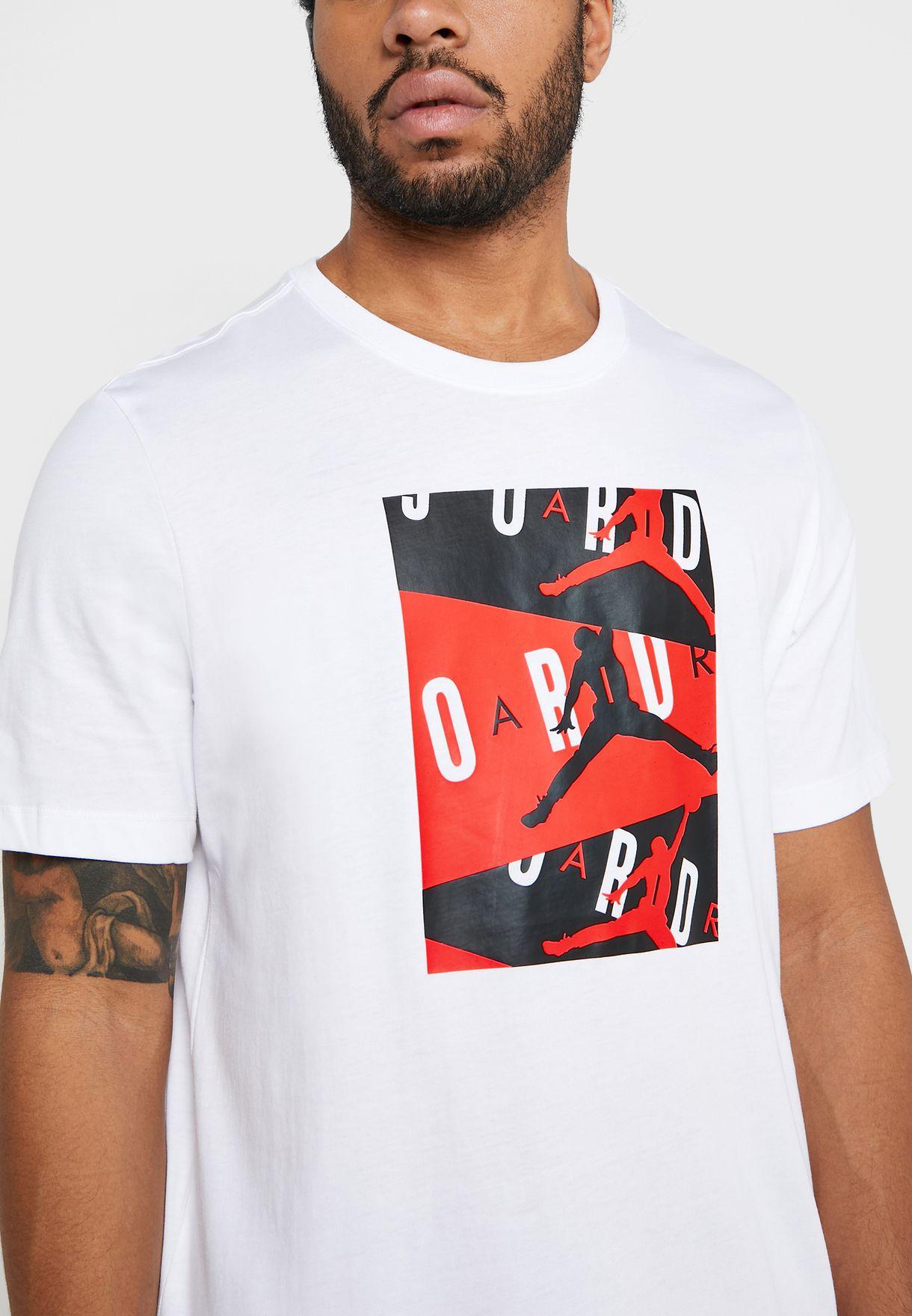 לצפייה במוצר JORDAN box logoes T-SHIRT