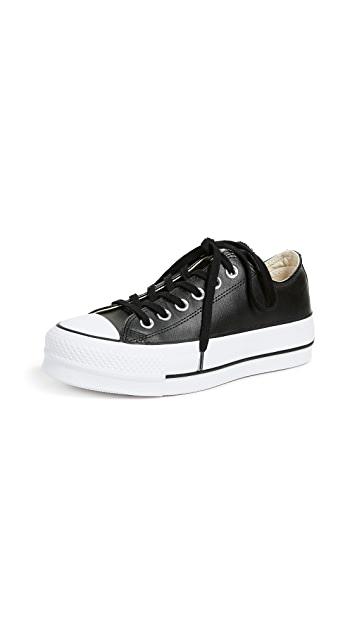 לצפייה במוצר Chuck Taylor All Star Leather Low Black