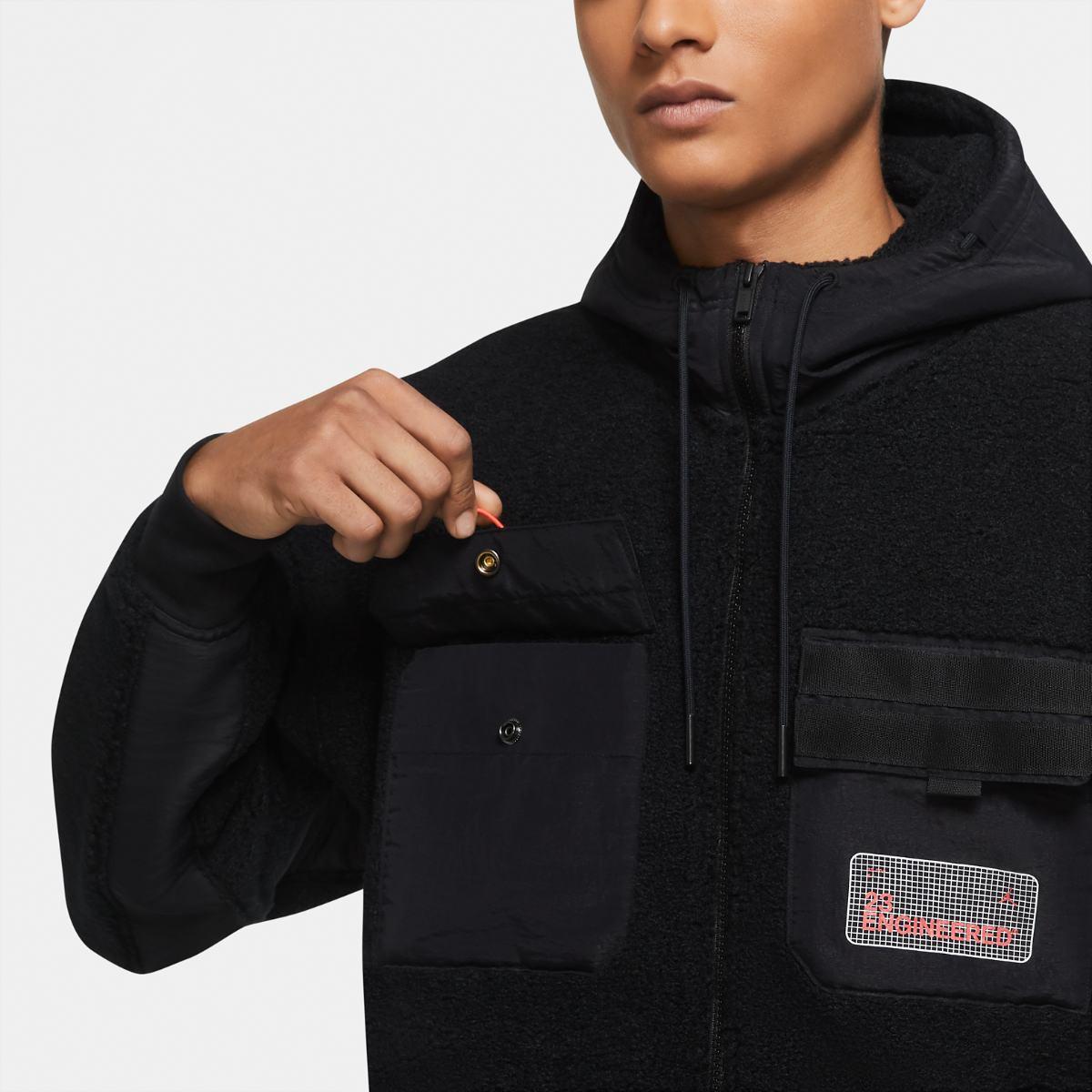לצפייה במוצר  Jordan fleece Jacket Black