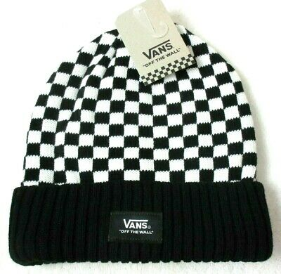 לצפייה במוצר VANS CHECKERED BEANIE HAT