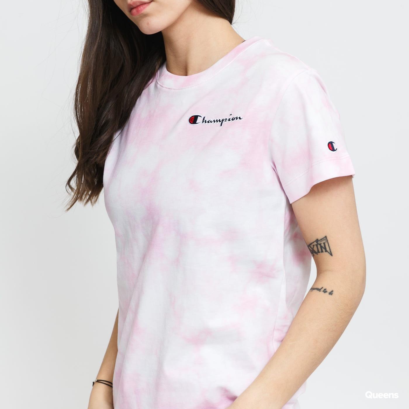 לצפייה במוצר  Champion Tee pink / white