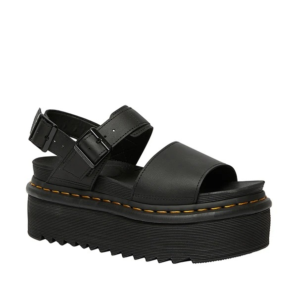 לצפייה במוצר  Dr. Martens Leather Strap Platform Sandals‏