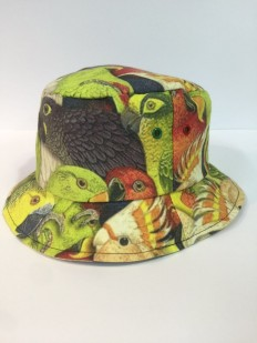 לצפייה במוצר GREET PARROT BUCKET HEAD