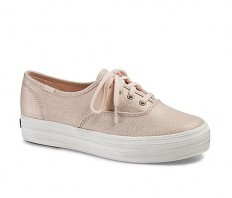 לצפייה במוצר KEDS TRIPLE METALLIC - ROSE GOLD