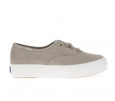 לצפייה במוצר KEDS TRIPLE MET CANVAS - GOLD