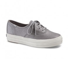 לצפייה במוצר KEDS TRIPLE METALLIC - SILVER