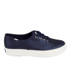 לצפייה במוצר KEDS TRIPLE MET CANVAS - NAVY