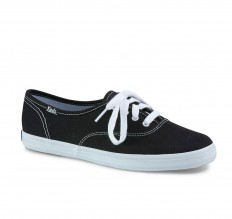 לצפייה במוצר KEDS CHAMPION - BLACK CANVAS