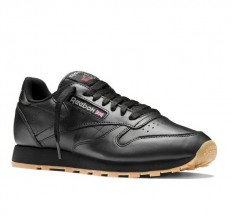לצפייה במוצר REEBOK CLASSIC - LEATHER BLACK GUM MEN