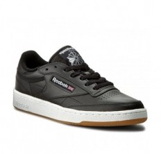 לצפייה במוצר REEBOK CLUB C 85 - BLACK WHITE GUM