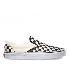 לצפייה במוצר VANS CLASSIC SLIP-ON - CHECKER BLACK WHITE