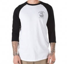 לצפייה במוצר VANS RAGLAN RATTLE SNAKE HILL - WHITE