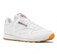 לצפייה במוצר REEBOK CLASSIC LEATHER MEN - WHITE/GUM