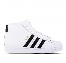 לצפייה במוצר ADIDAS PRO MODEL J -  FTW WHITE / BLACK