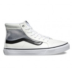לצפייה במוצר SK8-HI SLIM CUTOUT MESH - WHITE/BLACK