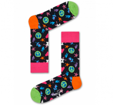 לצפייה במוצר HAPPY SOCKS - PEACE AND LOVE SOCK