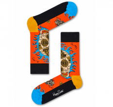לצפייה במוצר HAPPY SOCKS - LEAF SKULL SOCK