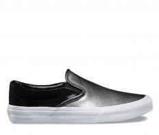 לצפייה במוצר CLASSIC SLIP-ON 2-TONE - METALLIC BLACK