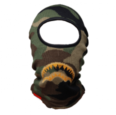 לצפייה במוצר SPRAYGROUND SKI MASK - GOLD KNIT SHARK
