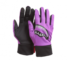 לצפייה במוצר SPRAYGROUND - PURPLE 3M SHARK MOUTH GLOVES