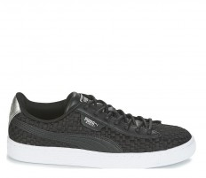לצפייה במוצר PUMA - BASKET SATIN BLACK - WOMAN
