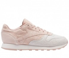 לצפייה במוצר REEBOK - CLUB LEATHER NUBUCK PALE PINK - WOMAN