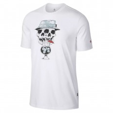 לצפייה במוצר CONVERSE TROPICAL SKULL TEE WHITE